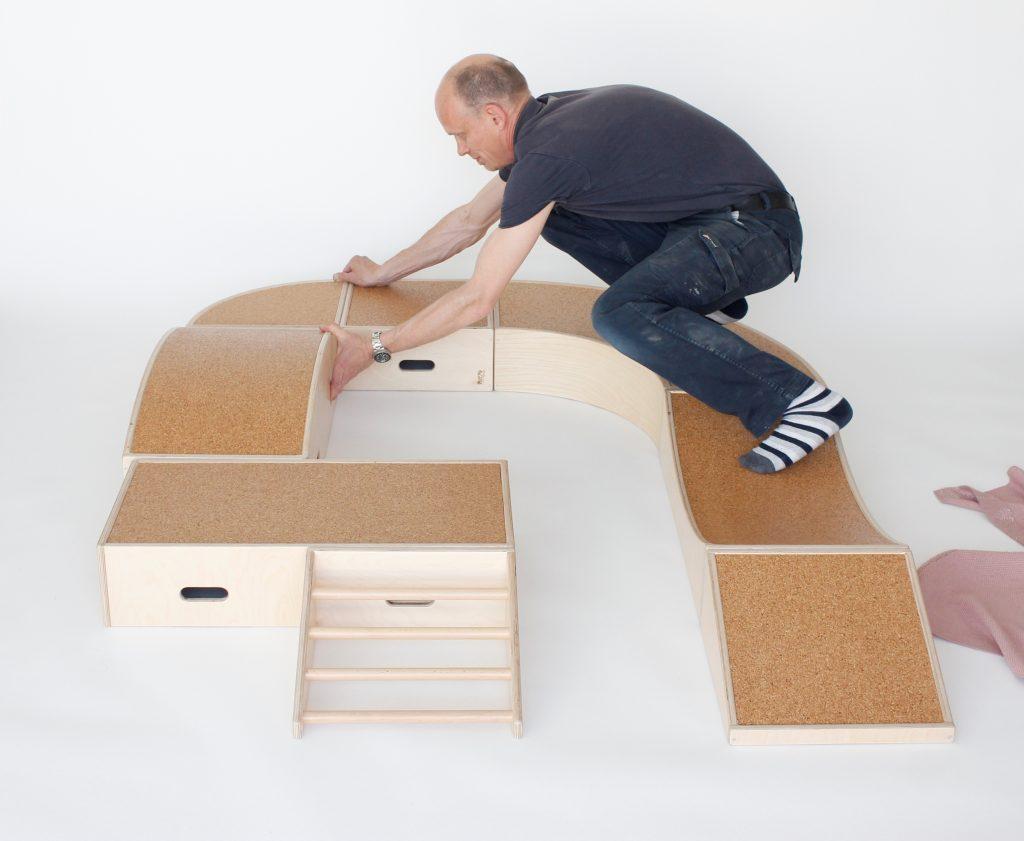 cajas modulares de gateo tambox