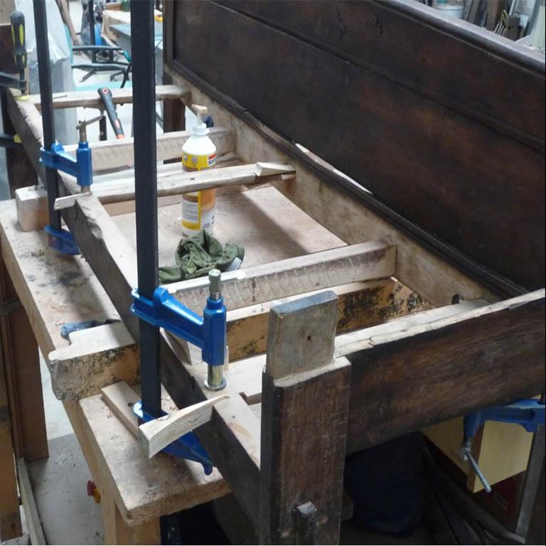 restauracion de muebles valadolid taller acero y madera