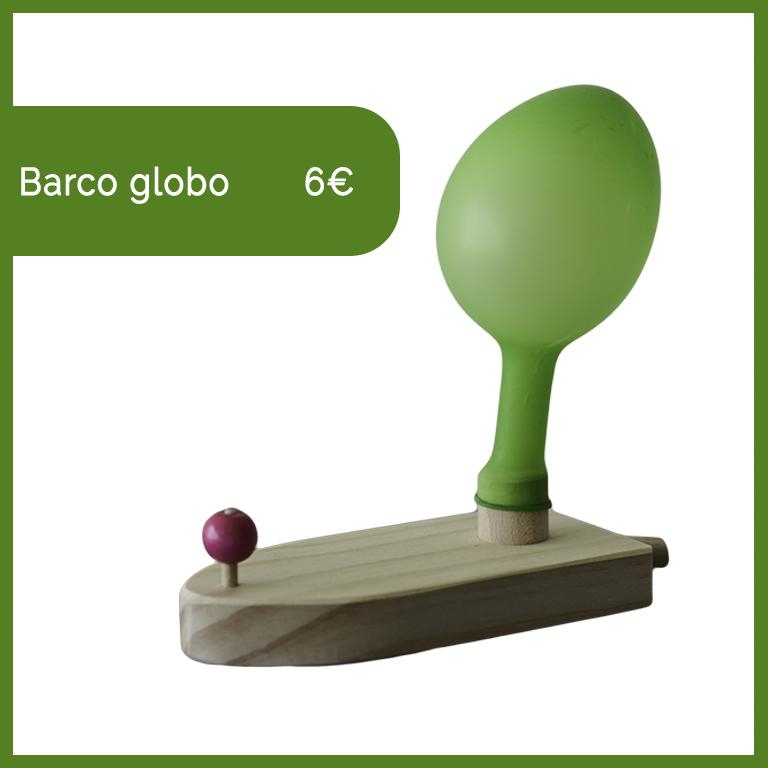 barco globo madera valladolid jugar niños artesania bernd