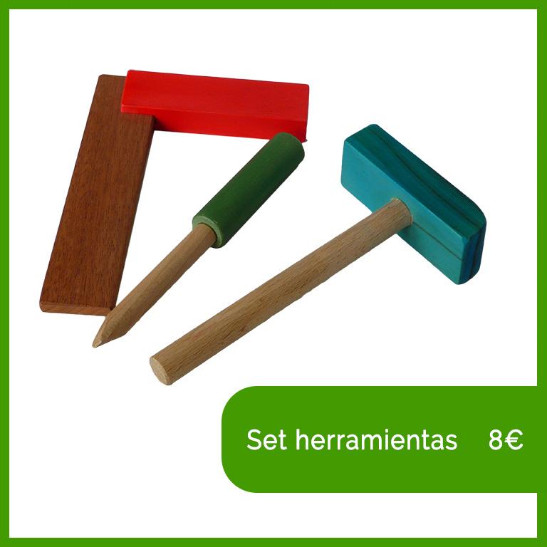 herramienta de madera valladolid juguetes niños artesania bernd