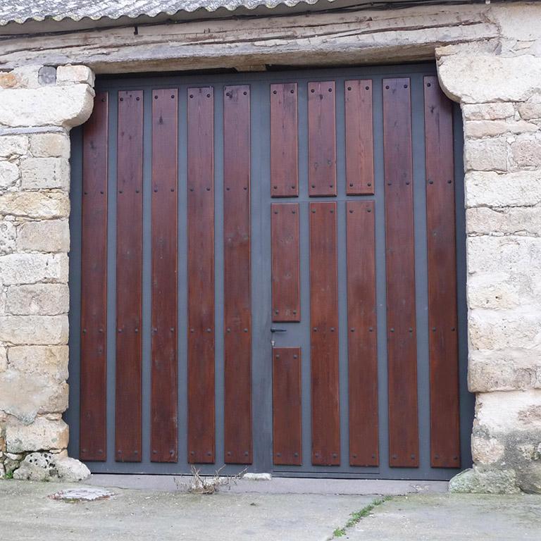 trasera villalba de los alcores taller acero y madera traseras restauracion casa rustica