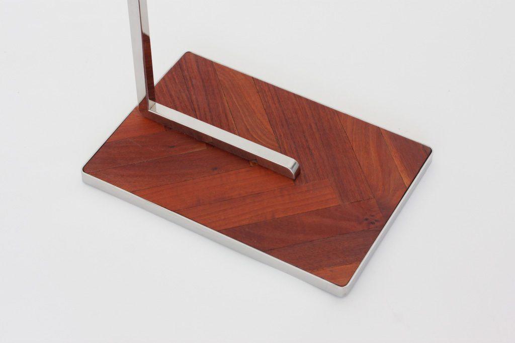 toallero aceroinox muebles a medida madera taller acero y madera valladolid