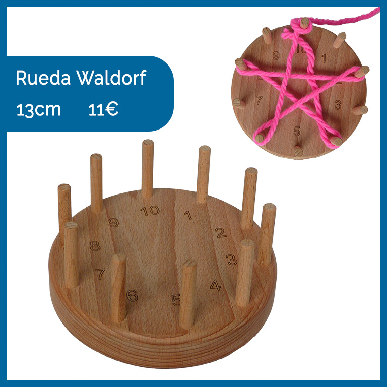 rueda waldorf montessori matemáticas