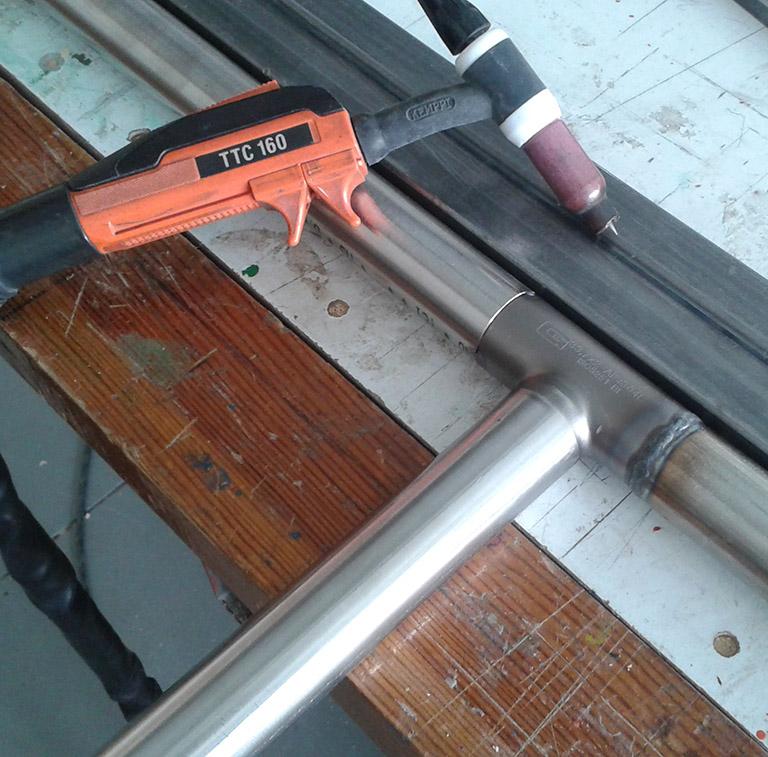soldar tubos de acero inoxidable arreglos mantenimiento