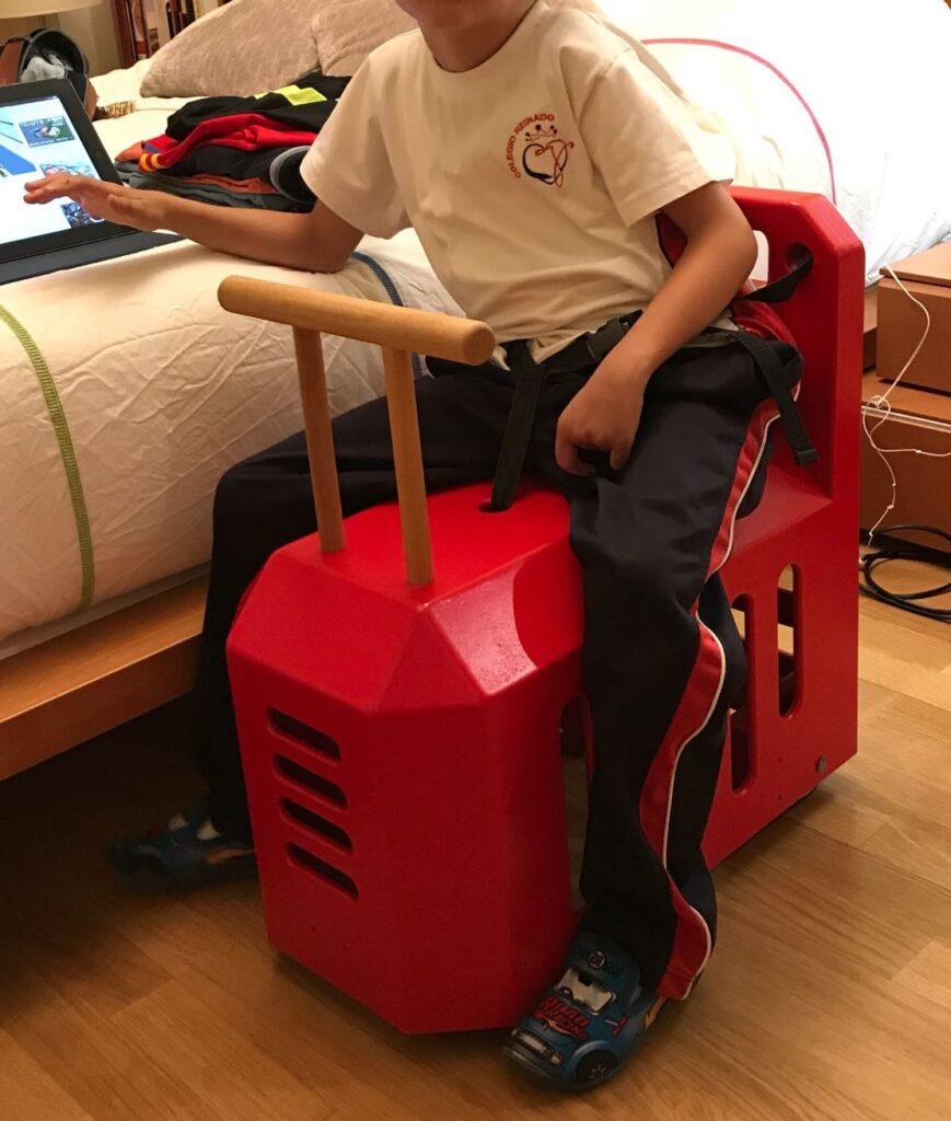 triciclo valladolid, discapacitados, silla de rueda, ayuda personas, correpasillo