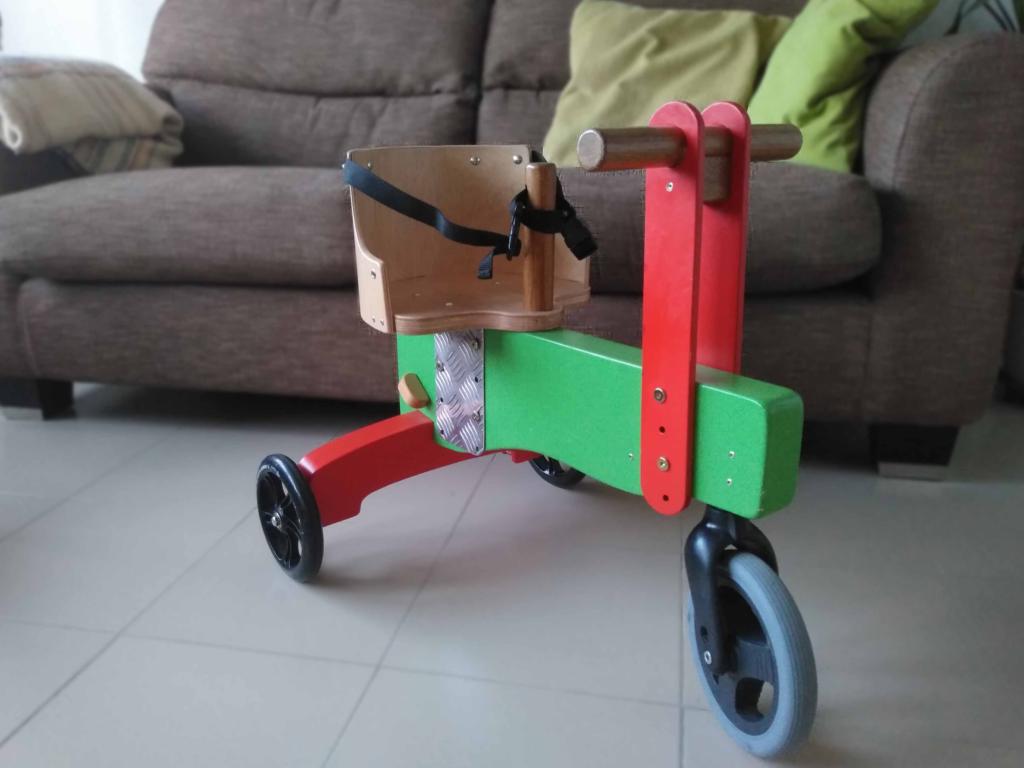 triciclo valladolid, discapacitados, silla de rueda, ayuda personas