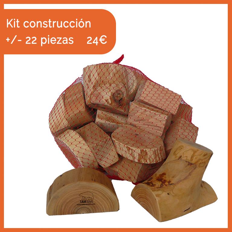 kit construcción waldorf creativo montessori ecologico valladolid